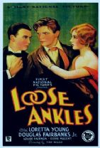 Loose Ankles 1930 DVD - Loretta Young / Douglas Fairbanks Jr